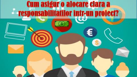 MATRICEA ALOCARII RESPONSABILITATILOR (MAR)