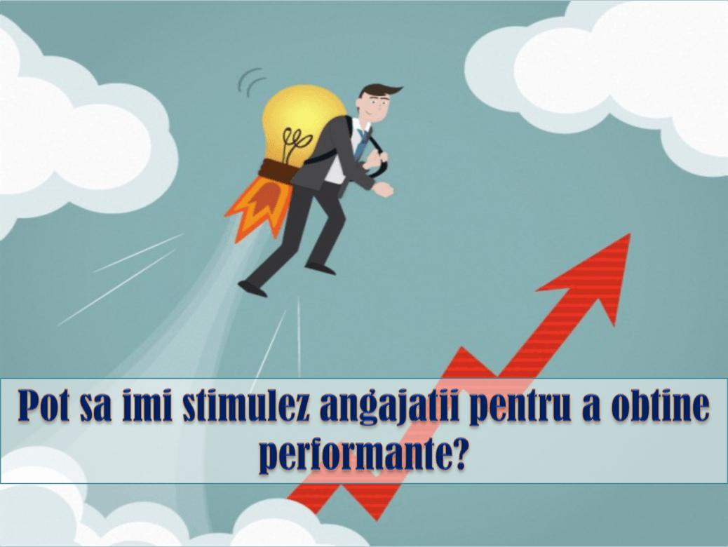 stimularea performantei angajatilor tehnici de motivare echipa motivata
