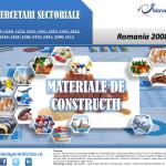 cercetare sector materiale constructii; evolutie sector materiale constructii; profitabilitate sector materiale constructii; indicatori financiari materiale constructii