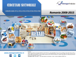 cercetare sector retail; evolutie sector retail; profitabilitate sector retail; indicatori financiari sector retail
