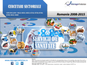 cercetare sector servicii sanatate; evolutie sector servicii sanatate; profitabilitate sector servicii sanatate; indicatori financiari sector servicii sanatate