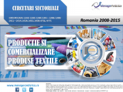 cercetare sector textile; evolutie sector textile; profitabilitate sector textile; indicatori financiari sector textile
