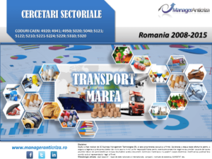 cercetare sector transport marfa; evolutie sector transport marfa; profitabilitate sector transport marfa; indicatori financiari sector transport marfa