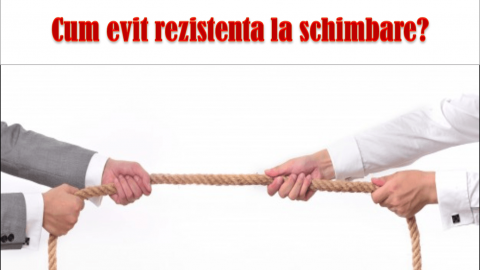 ECUATIA SCHIMBARII A LUI BECKHARD SI HARRIS – a depasi rezistenta la schimbare