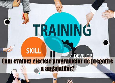 MODELUL KIRKPATRICK – evaluarea eficientei programelor de training