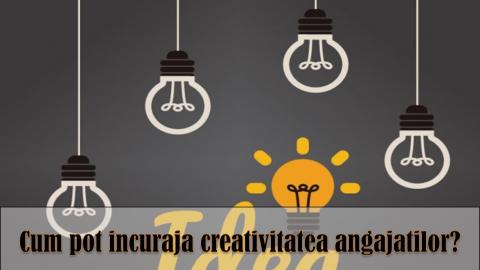 INCURAJAREA CREATIVITATII ECHIPEI – principii si practici de sporire a creativitatii